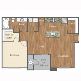 Bell Austin Southwest The Hendrix Floor Plan