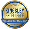 Kingsley 2021 award badge